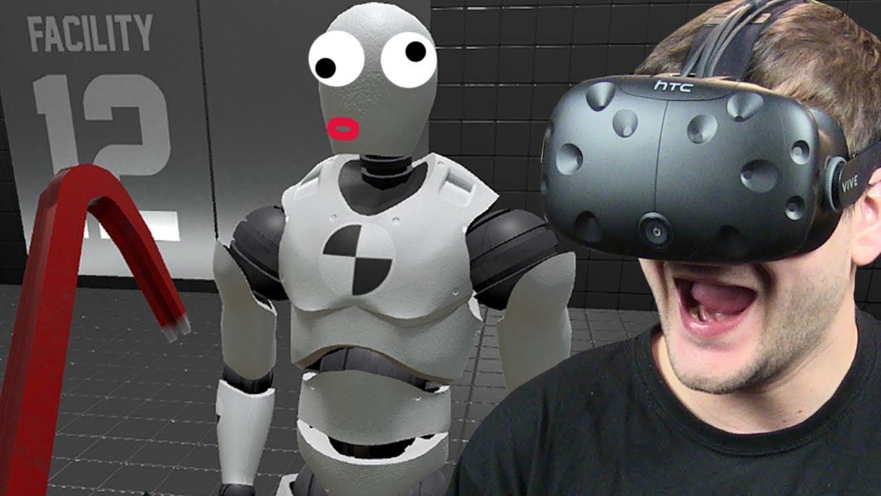 TEST WYTRZYMAŁOŚCI MANEKINÓW – Rage Room (HTC VIVE VR)