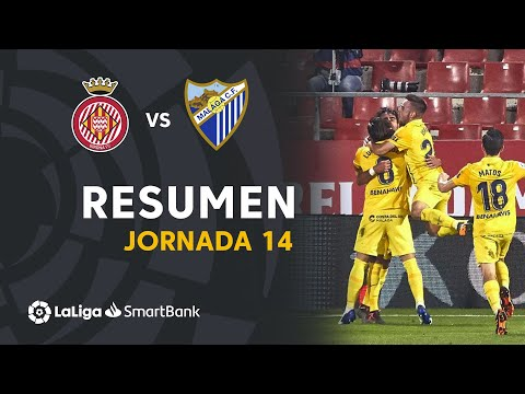 Girona Malaga Goals And Highlights