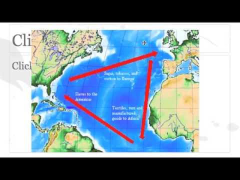 Triangle Trade - YouTube