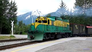 White Pass and Yukon Route trains