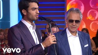 Andrea Bocelli - Fall On Me (GMA TV Performance) ft. Matteo Bocelli