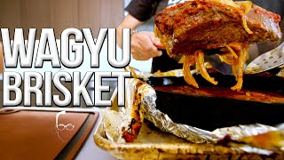 Wagyu Beef Brisket (My Secret Family Recipe) | SAM THE COOKING GUY 4K