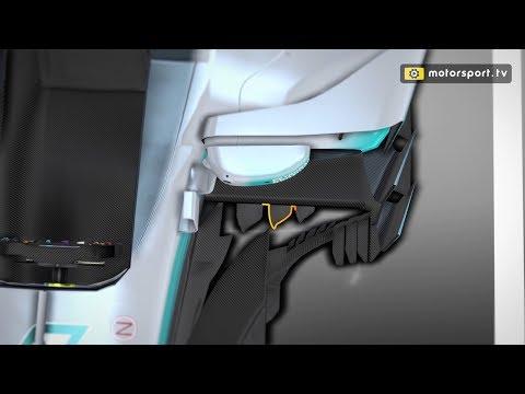 Mercedes' latest F1 aero tweaks