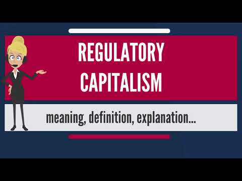 What is REGULATORY CAPITALISM? What does REGULATORY CAPITALISM mean? REGULATORY CAPITALISM meaning