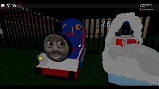 Thomas the tank engine kiddie ride on Roblox