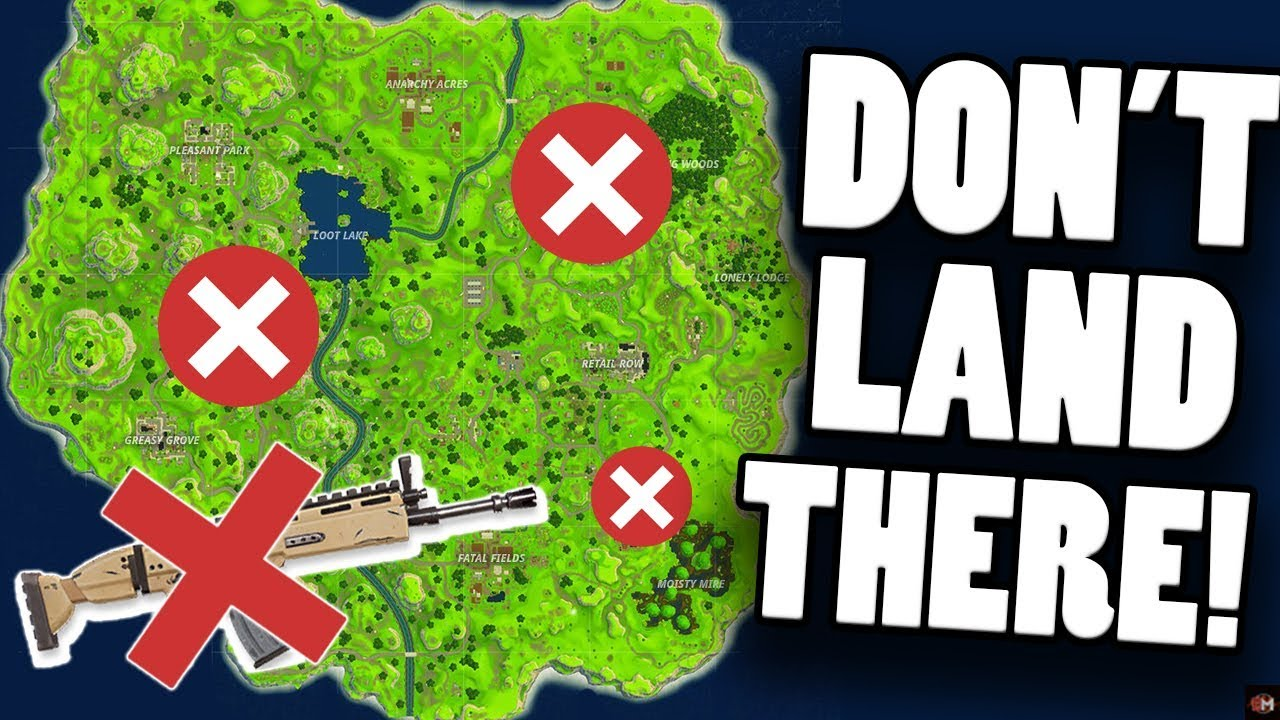 Top Places To Find The Best Loot: WORST PLACES TO DROP! NO SCAR LOCATIONS + Poor Loot Spots