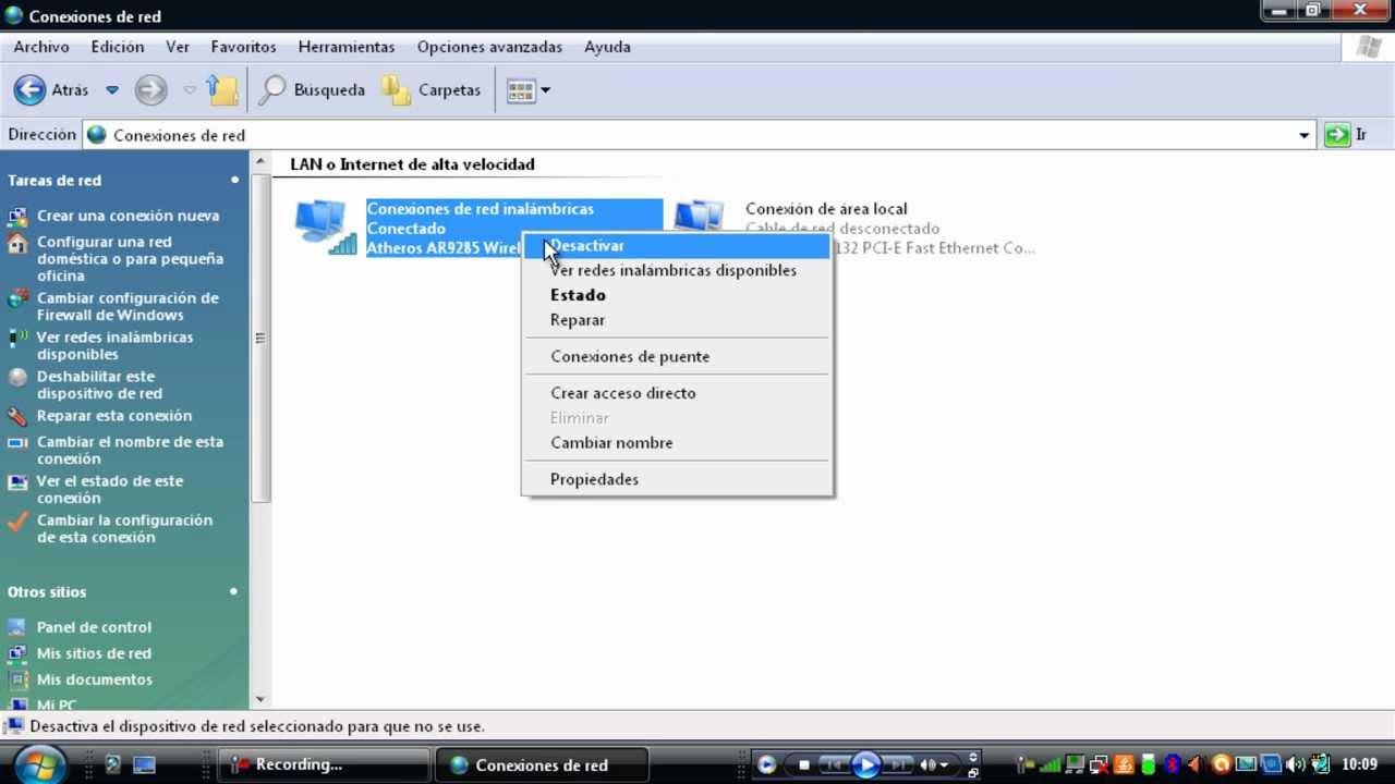 Como Activar Y Desactivar La Conexion Inalambrica Windows