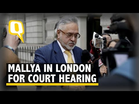 Vijay Mallya Arrives in Westminster Court for Hearing | The Quint