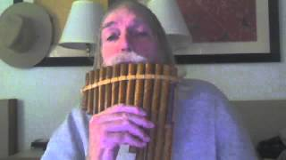 Cold River Waterfall - Original melody by Paul A. L. Hall on Pan Flute