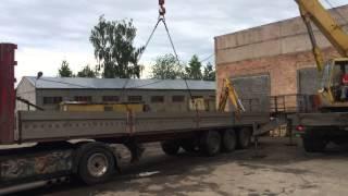 Разгрузка длинномера с арматурой автокраном в Калуге