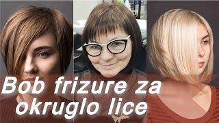 ✨ 20 trendi bob frizure za okruglo lice ✨