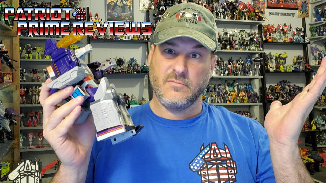 Patriot Prime Learns Something New About G1 Galvatron.
