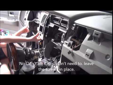 2004 Dodge Durango Dash Removal Part2