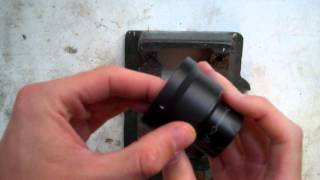 How To Press Fit The Doubler Lens onto a T20 - Nightvision UK - NVUK