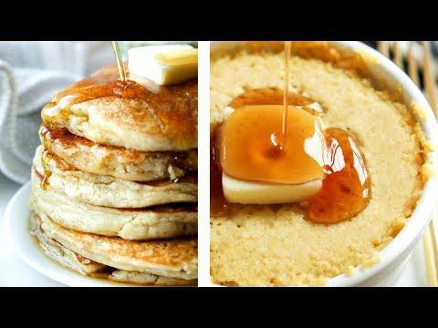 Almond Vanilla Pancakes