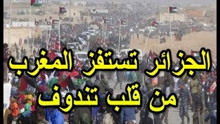 الجزائر تستفز المغرب من قلب تندوف