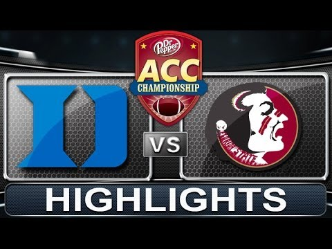 Duke vs Florida State  2013 ACC Football Highlight