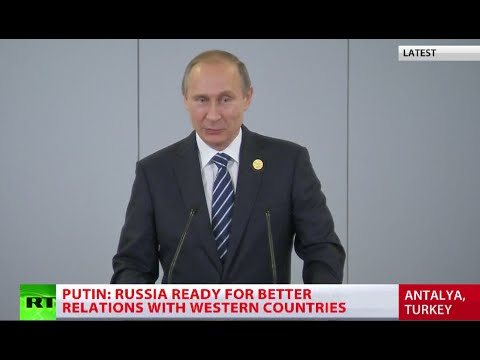 ISIS financed from 40 countries, incl G20 members – Putin (FULL SPEECH)
