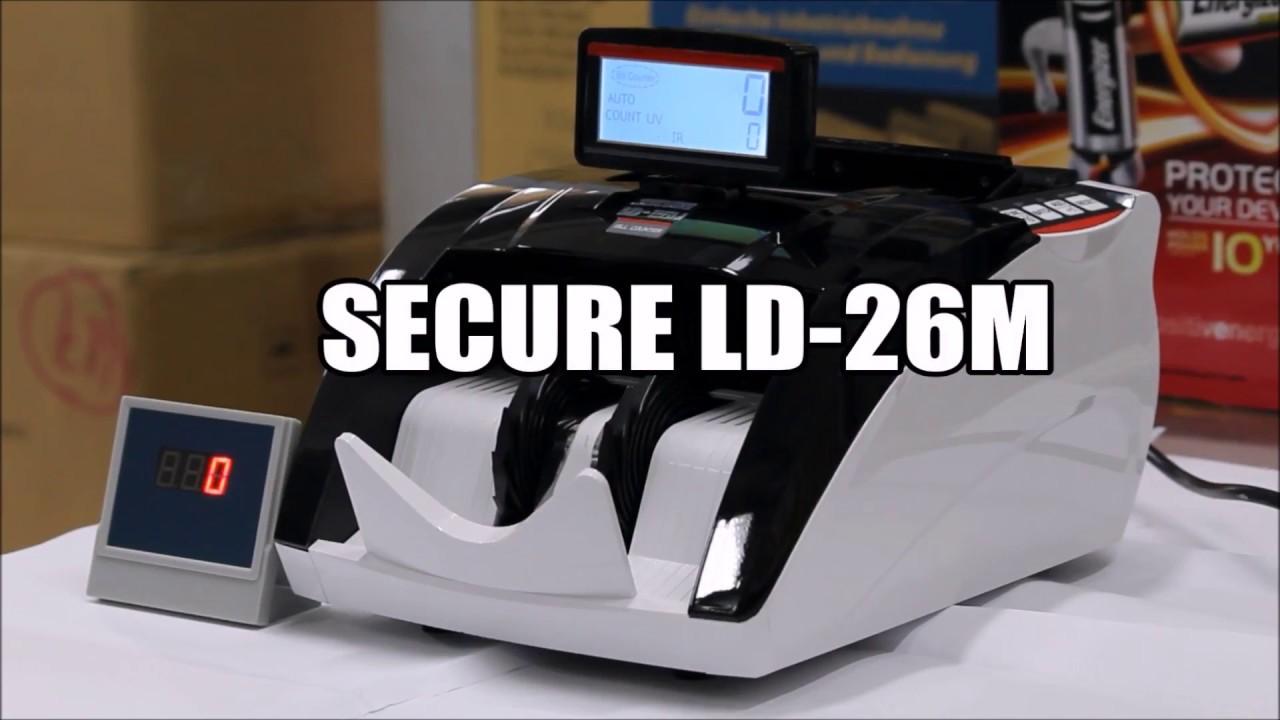 Mesin Hitung Uang Secure Ld 26m Money Counter Daftar Harga Terbaru 22a Preview