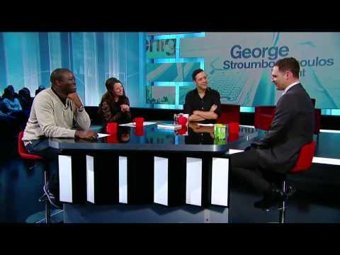 The Panel: Jay Onrait, Arthur Simeon, Emma  Hunter and The Iron Sheik on GST (11/28/13)