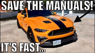 Here's Why the Manual 2018-19 Mustang GT is MISUNDERSTOOD!
