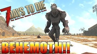 7 Days to Die BEHEMOTH!! - New and Upcoming NPCs & Zombies (Alpha 16)