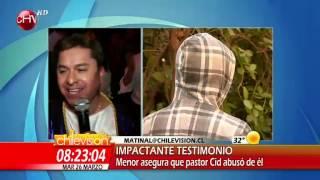Pastor Ricardo Cid es acusado de abuso a un menor de edad