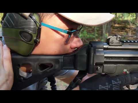 Pt. 3 -  PTR 9CT MP5 (clone) vs Bear Creek Armory AR15 - Up Drills