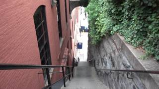 The Exorcist steps, located in Georgetown, Washington, D.C.