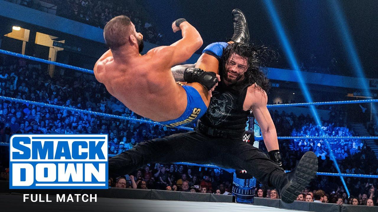 Download FULL MATCH - Roman Reigns vs. Robert Roode: SmackDown, Nov. 29, 2019