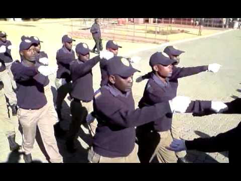 South Africa Gauteng Metro Police Graduation Day 2009
