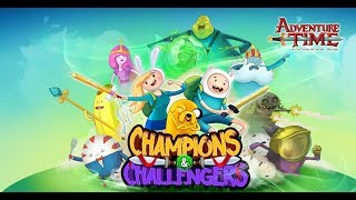 Champions and Challengers - Adventure Time - Pre-register on Google Play Store