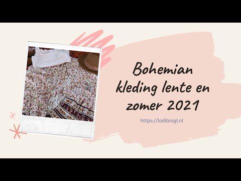 Bohemian kleding lente en zomer 2021