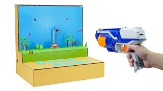 How to Make Amazing Duck Hunt Gameplay from Cardboard