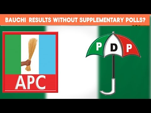 Bauchi Results Before Supplementary Polls?