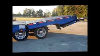 2006 Trail King TK70HST-48 Advantage equipment trailer | sold at auction October 22, 2013