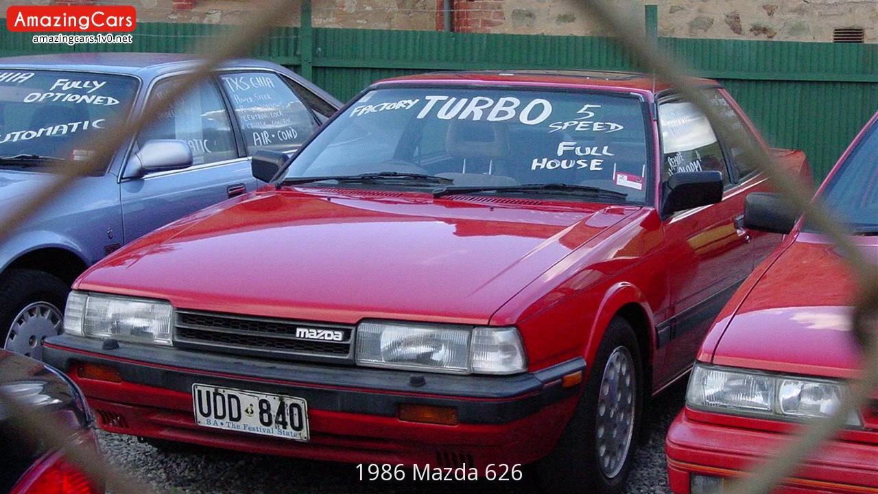 1986 Mazda 626 - YouTube