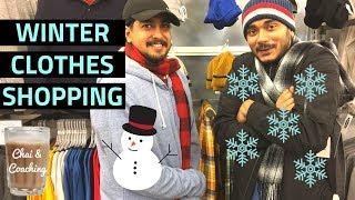 56. Winter Clothing Shopping Guide For Students In America (Sambit & Raman) | Chai & Coaching