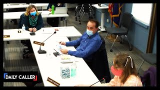 School Board Meeting Turns Tense Over Masks