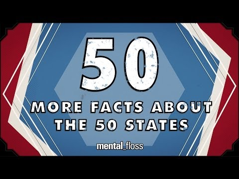 50 More Facts About the 50 States - mental_floss on YouTube (Ep.44)