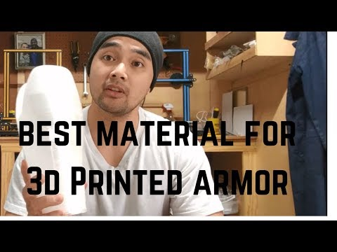 Best Filament for 3D Printed Armor