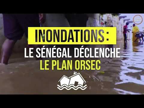 Inondations: Le Sénégal déclenche le Plan Orsec