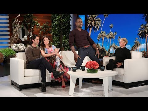 Ellen Offers to Let Sterling K. Brown Finish His Cut-Off Emmy Speech
