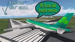 [REAL ATC] Aer Lingus returns to Dublin with LANDING GEAR ISSUE