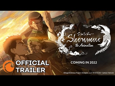Shenmue the Animation | A Crunchyroll and Adult Swim Production | OFFICIAL TRAILER