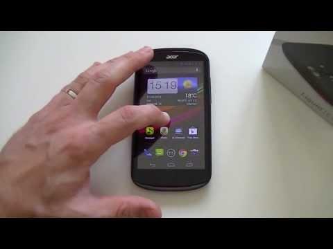 Test de l'Acer Liquid E1 (V360) | par Top-For-Phone.fr