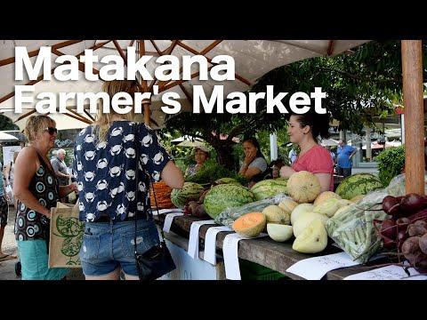Matakana Farmer's Market New Zealand マタカナファーマース・マーケット