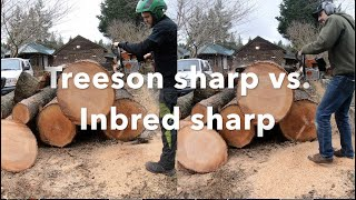 In this video my buddy Inbred Jed sharpens my ms661 with his triangle file in hopes that sharing his knowledge will help you get your saws razor sharp! I bought ...