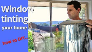 How to install wiฑdow tint at home with Inspire DIY Kent Thomas