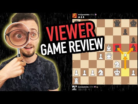 Analyzing My Subscriber Chess Games